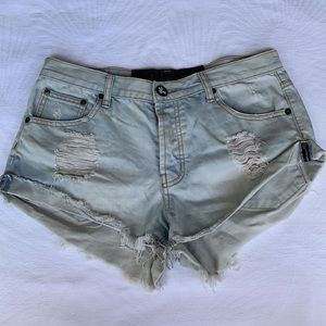 ONE TEASPOON | Distressed cutoff shorts